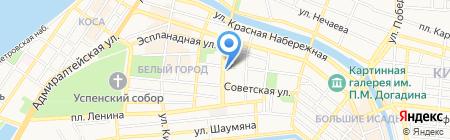 Мир без очков на карте Астрахани