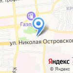 Тополь на карте Астрахани
