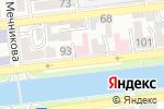 Схема проезда до компании Астраханская областная ветеринарная лаборатория в Астрахани