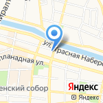 Коммунэнергосервис на карте Астрахани