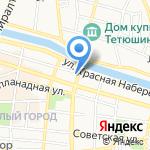 Логика Красоты на карте Астрахани