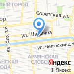 Астраханская областная ветеринарная лаборатория на карте Астрахани