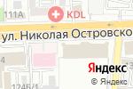 Схема проезда до компании Банкомат, Газпромбанк в Астрахани