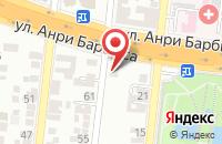 Схема проезда до компании Новый мост в Астрахани