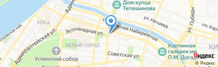 ASTrabota на карте Астрахани