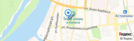 Оберег на карте Астрахани