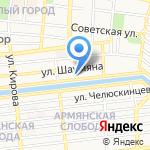 Норма-Климат на карте Астрахани
