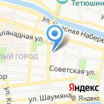 АСТеплоСтройЮг на карте Астрахани
