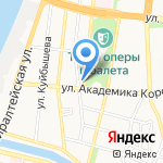 Покров на карте Астрахани