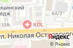 Схема проезда до компании Мастерская по ремонту одежды в Астрахани
