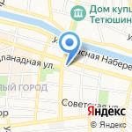 НБ Траст на карте Астрахани
