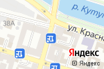 Схема проезда до компании Инк-Сервис в Астрахани