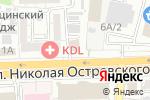 Схема проезда до компании Астра-Принт в Астрахани