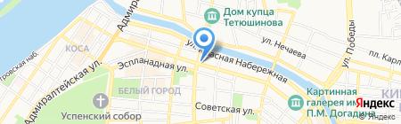 Тренажерный зал на карте Астрахани
