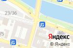 Схема проезда до компании Сияние в Астрахани