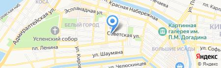 Ред Роуз на карте Астрахани