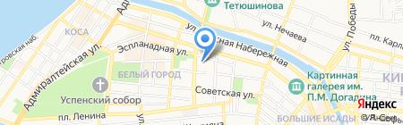 Студия багетного дизайна Алексея Булычева на карте Астрахани