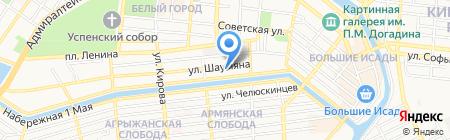 Благовест-Компания на карте Астрахани