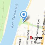 Лимпопо на карте Астрахани