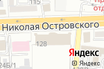 Схема проезда до компании Много мебели в Астрахани