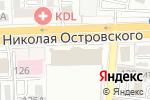 Схема проезда до компании E1 в Астрахани