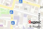 Схема проезда до компании Студия багетного дизайна Алексея Булычева в Астрахани