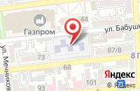Схема проезда до компании Мир Моторов в Астрахани