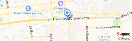 Банкомат АКБ МОСОБЛБАНК на карте Астрахани