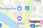 Схема проезда до компании Продуктовый магазин в Астрахани