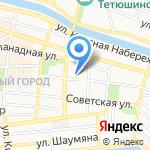 Лицей №1 с дошкольным отделением на карте Астрахани