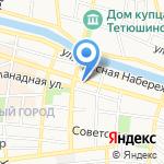 Премьер-Тур на карте Астрахани