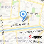 Астраханский губернский техникум на карте Астрахани