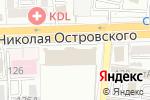 Схема проезда до компании Искусство и Серебро в Астрахани