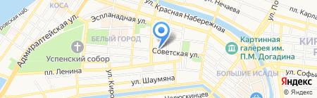 ША НУАР на карте Астрахани