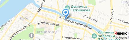 Beauty гостиная на карте Астрахани