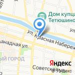 Инк-Сервис на карте Астрахани