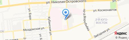 24 часа на карте Астрахани