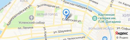 Гламур на карте Астрахани