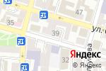 Схема проезда до компании Территория четких Ladies в Астрахани