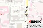 Схема проезда до компании Спектр-Аудит в Астрахани