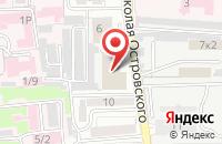 Схема проезда до компании Молния в Астрахани
