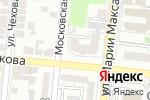 Схема проезда до компании Для тебя в Астрахани