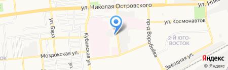 Молния-Флекс на карте Астрахани