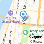 Дон-Кихот на карте Астрахани