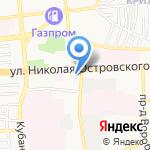 Стильный регион на карте Астрахани