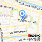 ТРАЙВ на карте Астрахани