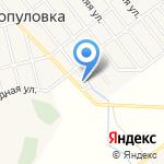Бэхетле на карте Астрахани