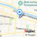 Молоко на карте Астрахани