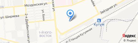 Премиум на карте Астрахани