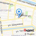 Мир книги на карте Астрахани